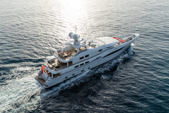 Motor yacht GRACE © Amels