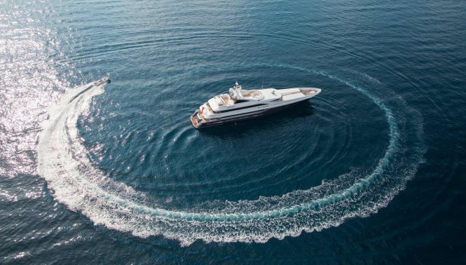 Motor yacht TURQUOISE