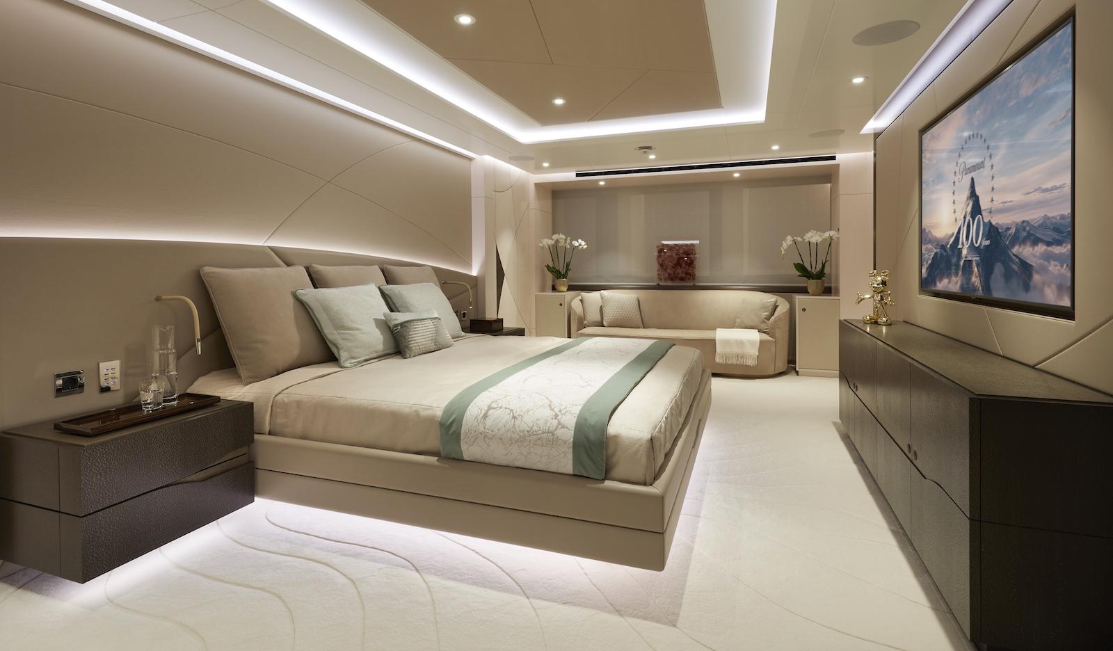 Owner stateroom © Heesen Yachts