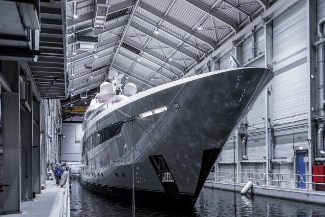 SOMNIUM yacht © Feadship