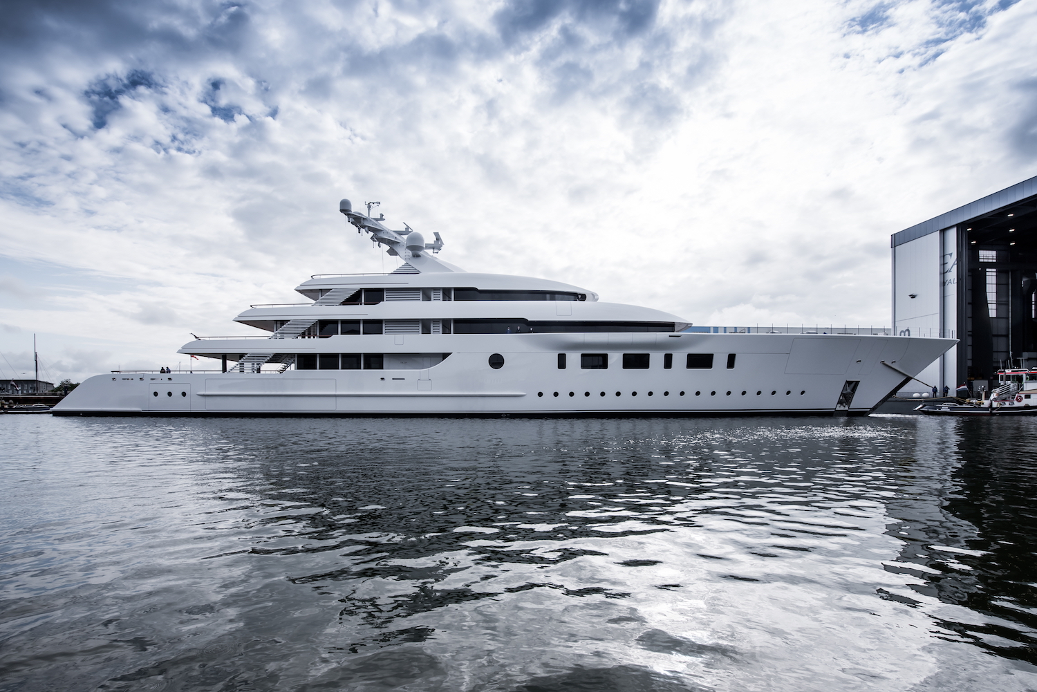 95m Feadship superyacht BLISS launched © Feadship