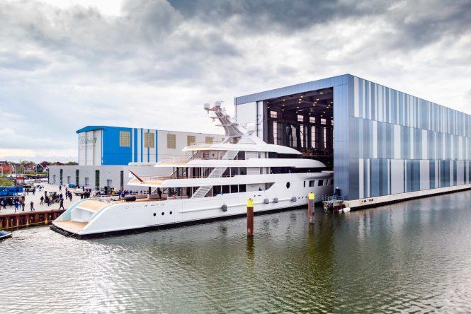 95m motor yacht BLISS © Feadship