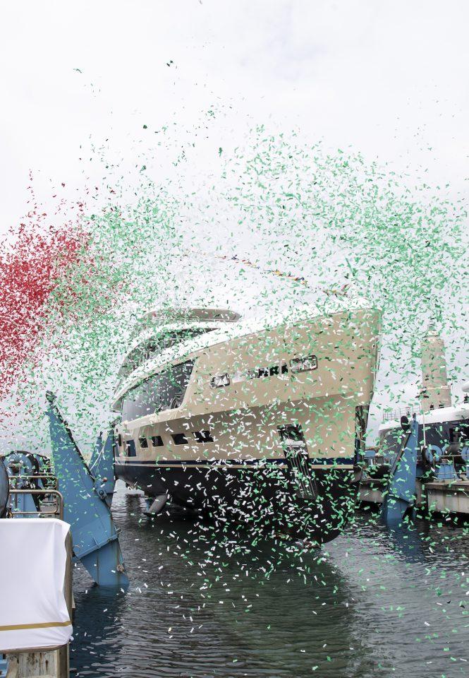 Benetti Launches superyacht Hawa, a full custom 48M yacht