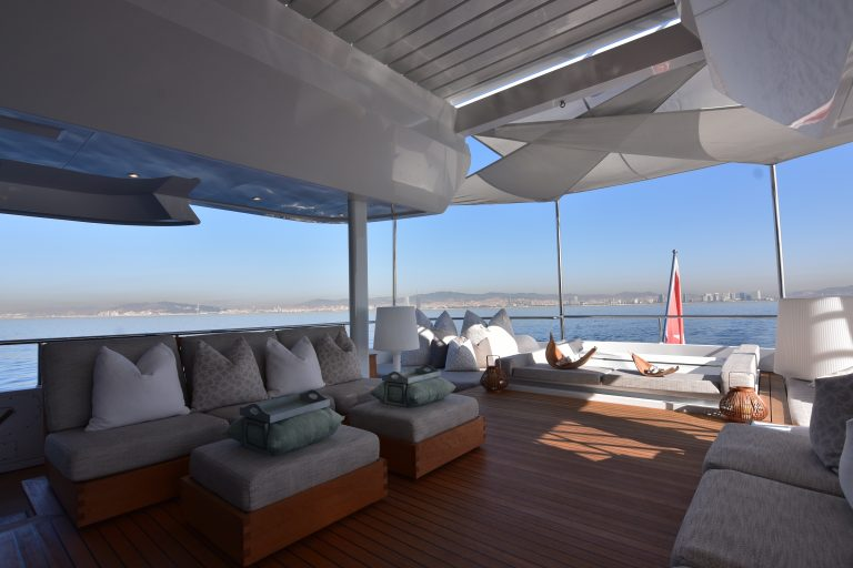 Deck areas