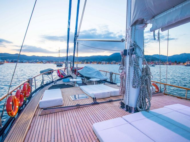 In Turkey aboard a luxury gulet © S/Y DEA DEL MARE