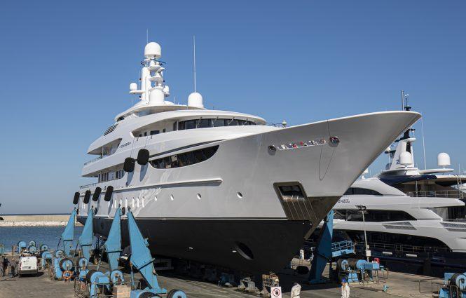 Lusben refits motor yacht Oasis - Lurssen 60m