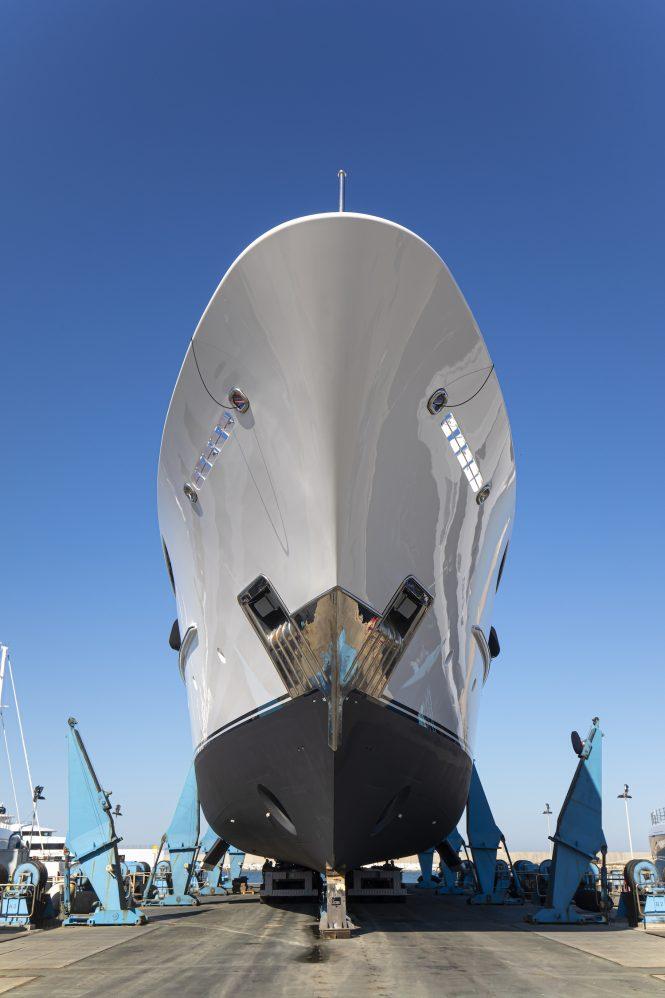 Lusben refits superyacht Oasis - Lurssen 60m
