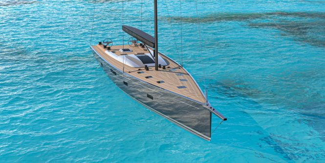 Sailing yacht NYUMBA