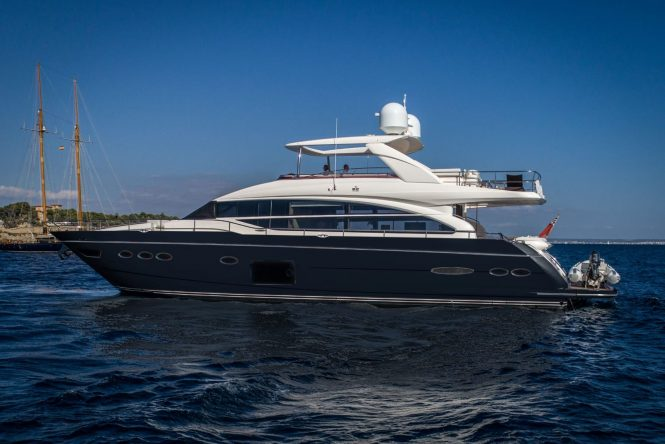 motor yacht LADY ISABELLA