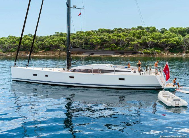 sailing yacht SPARK III
