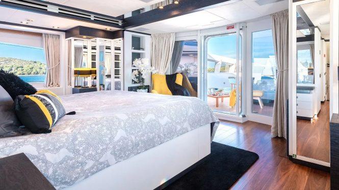 Amazing accommodation on board