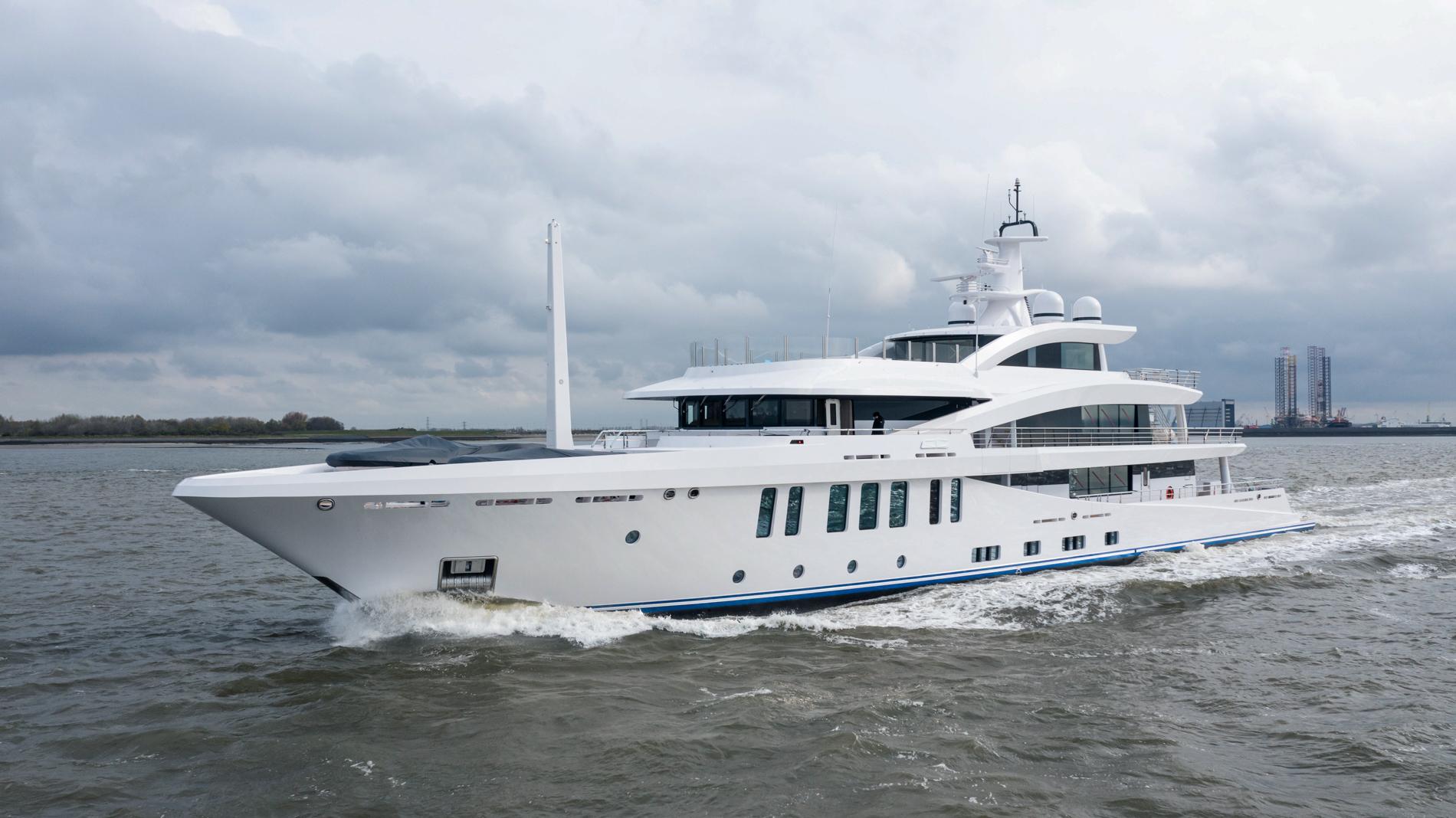 Amels 200 superyacht STELLA M delivered to her owner ©Amels_Damen