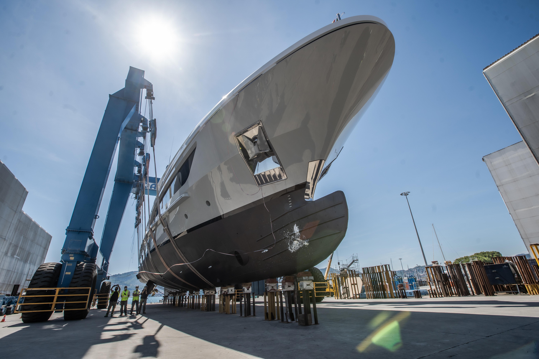 LION superyacht - launch