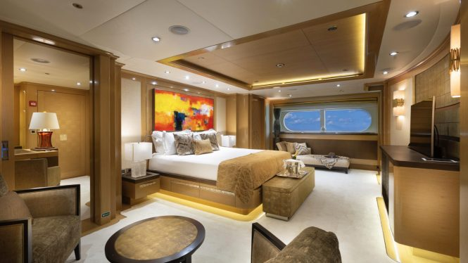 Large master suite offering plenty of comfort