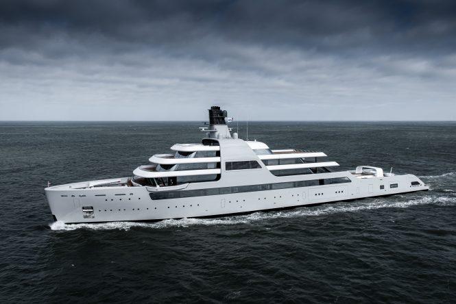 Luxury mega yacht SOLARIS delivered by Lloyd Werft