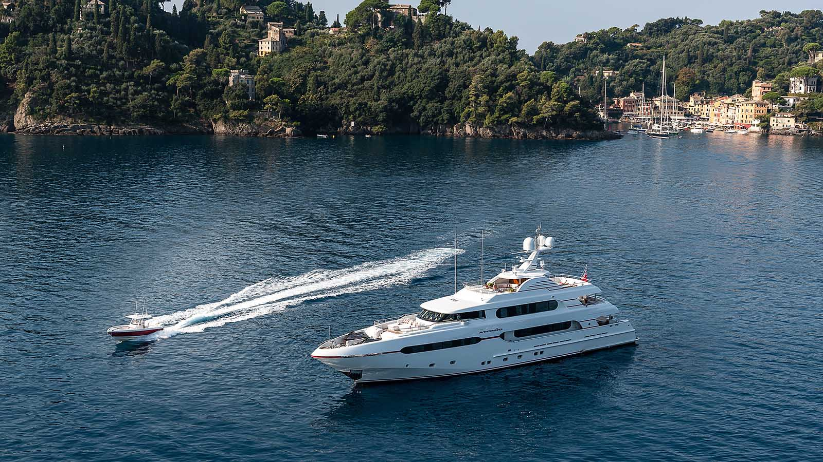 Luxury motor yacht AUDACES available for charter after refit