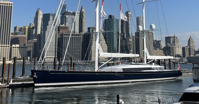 Luxury sailing yacht MONDANGO 3 in New York ©Photo Scott Henderson