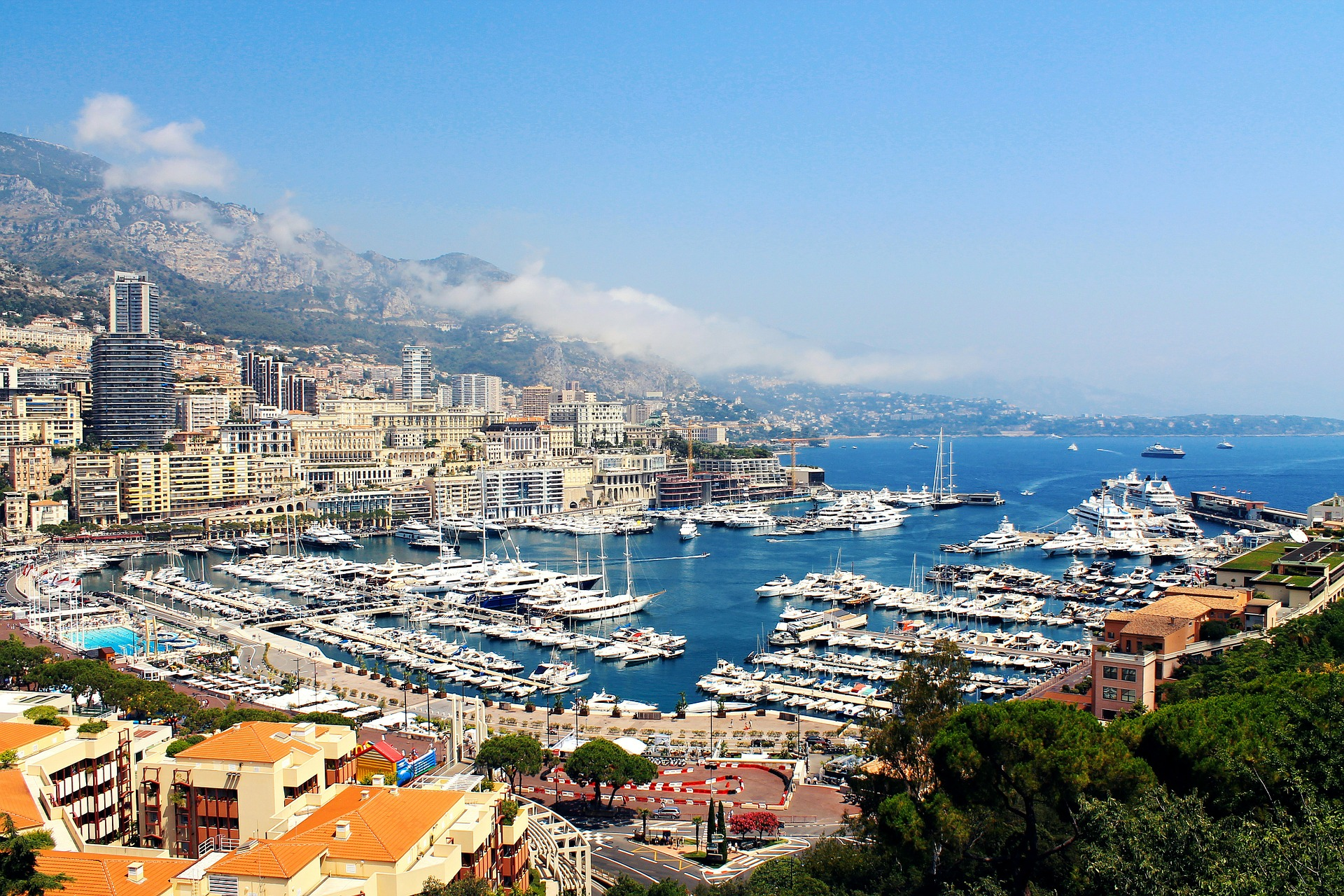 Monaco - a beautiful yacht charter destination