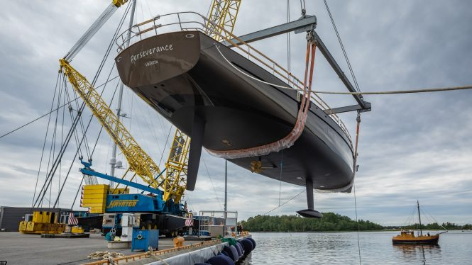 Perseverance I yacht launched by Baltic Yachts