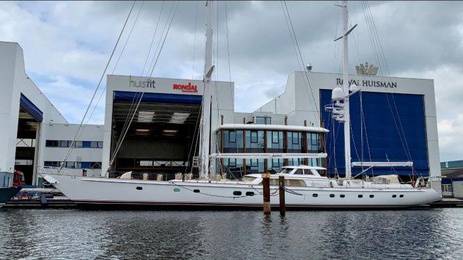 Sailing yacht JULIET at Royal Huisman