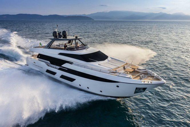 Sistership to luxury yacht EAGLE ONE