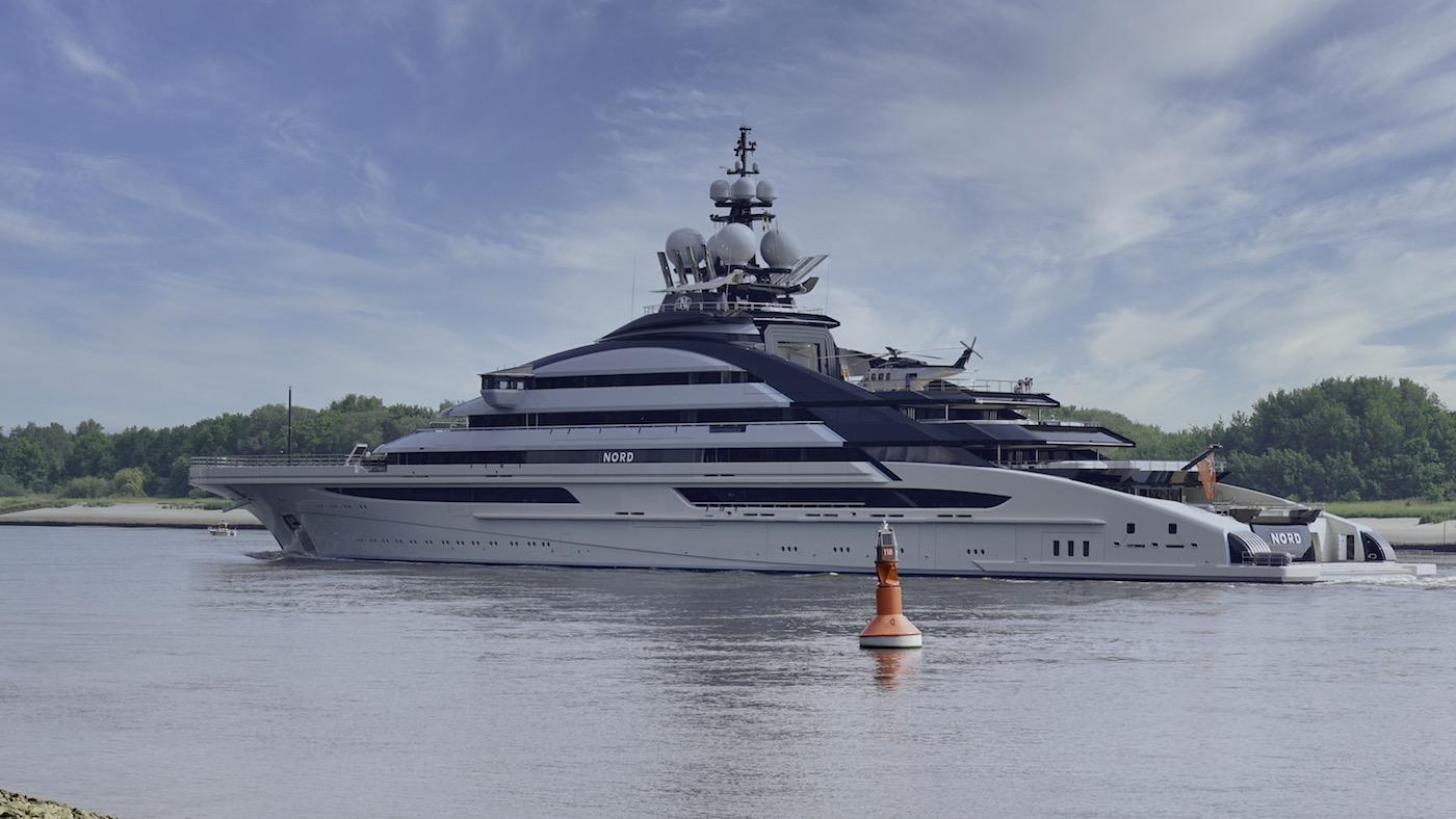 luxury super yacht NORD © DrDuu