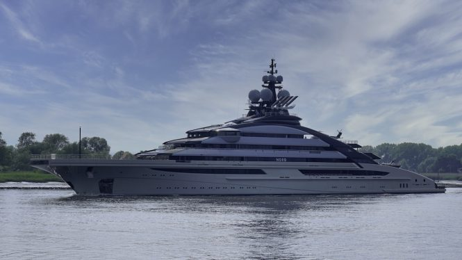 mega yacht NORD © DrDuu