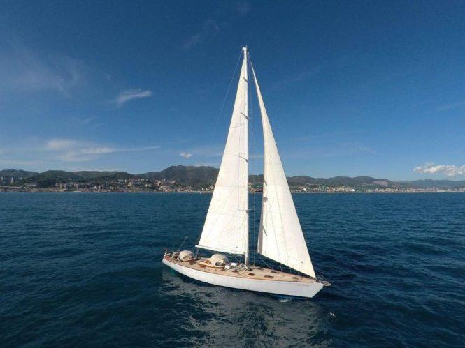 sailing yacht QUARTA SANTA MARIA