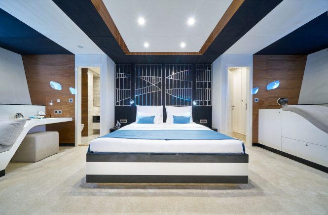 Master suite located at bow