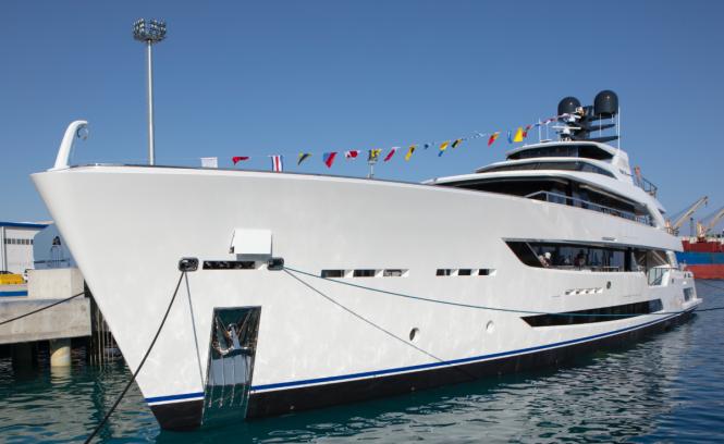 AL WAAB II yacht on water © Alia Yachts