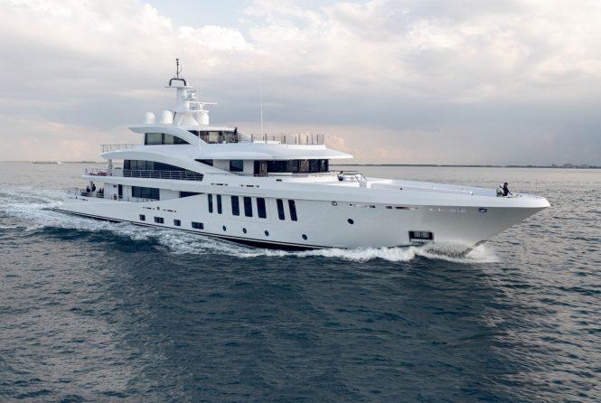 Amels luxury superyacht MOONSTONE