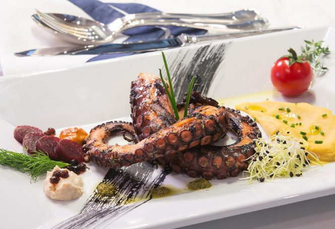 Delicious dishes prepared by your personal chef