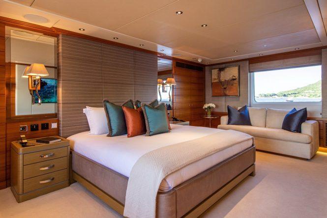 Full-beam master suite