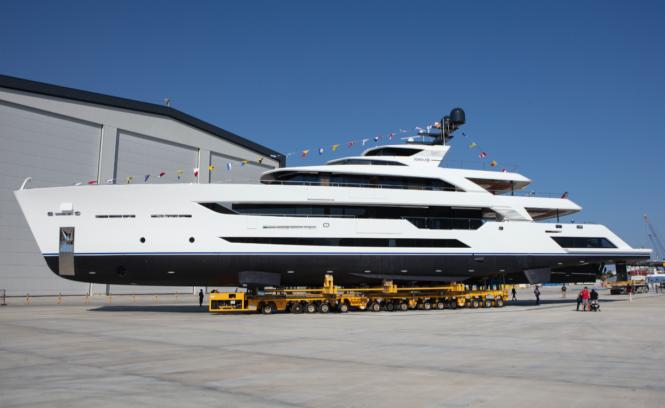 Motor yacht AL WAAB II © Alia Yachts