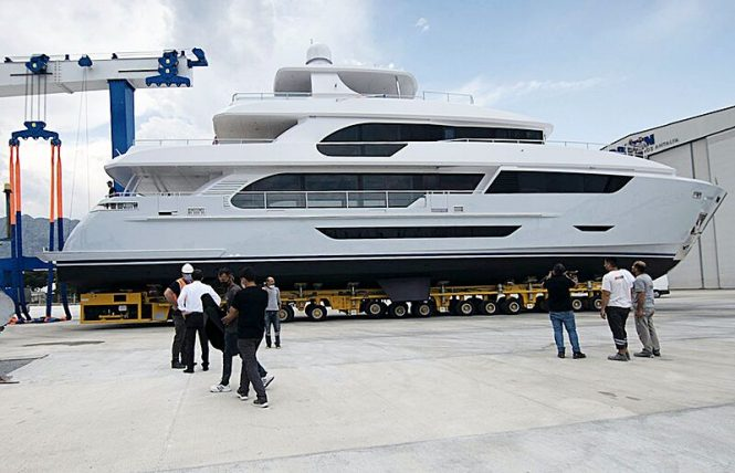 B116 Motor Yacht HYPERION Launched by HSY Yachts