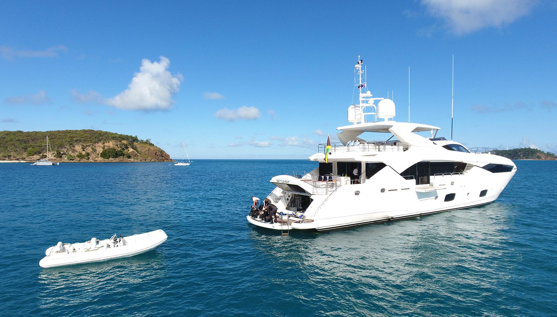 Motor yacht SETTLEMENT