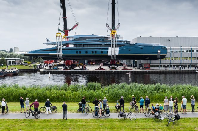 Royal Huisman project 403 sailing yacht PHI - photo Tom van Oossanen