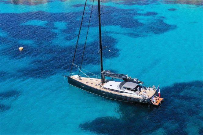 Sailing yacht MAOYA