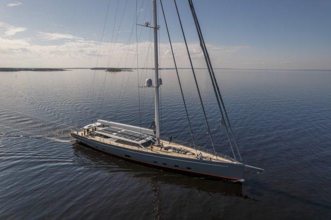 Sailing yacht PATH © Baltic Yachts