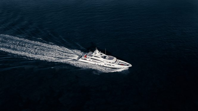 motor yacht MOONSTONE by Amels