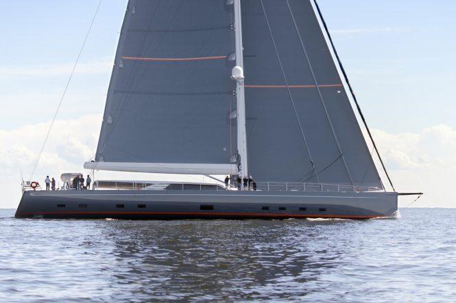 profile of sailing yacht PATH © Baltic Yachts