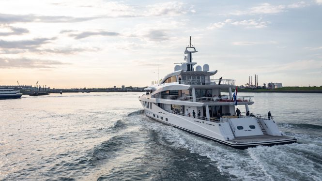 superyacht Moonstone by Amels