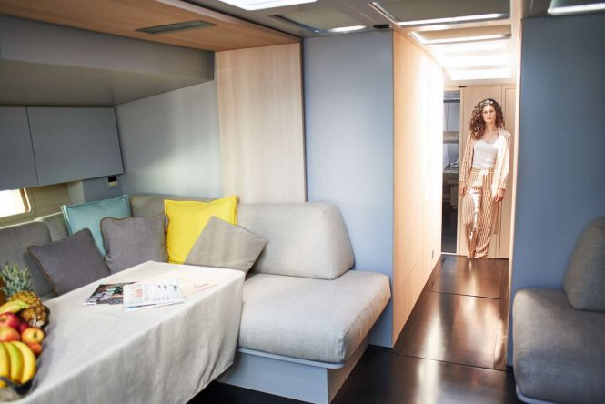 welcoming modern interiors