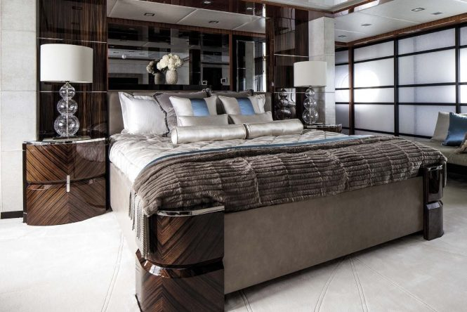 Spacious and luxurious accommodation