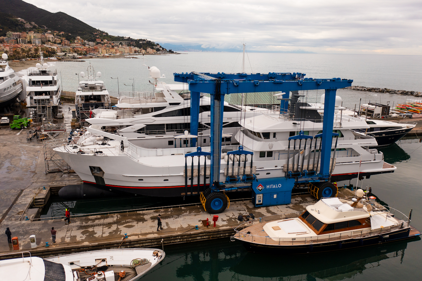Superyacht Far Far Away relaunched by Lusben