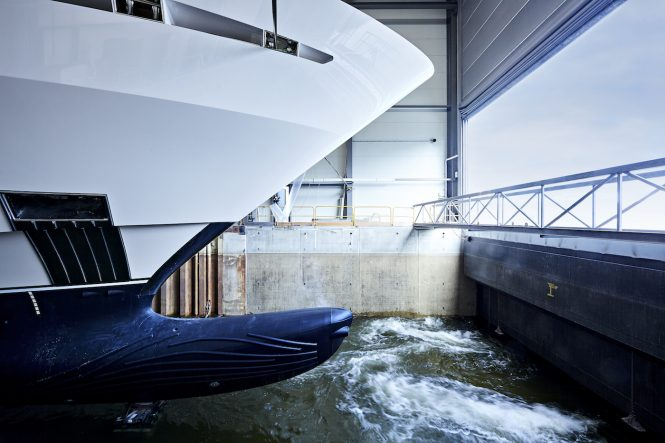 superyacht project FALCON