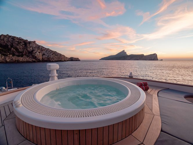 Amazing views from the Jacuzzi