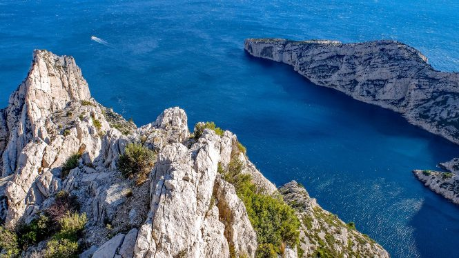 Calanque in France
