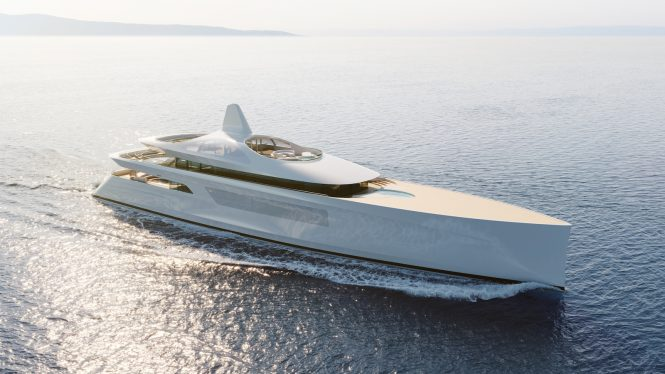 Future concept yacht PURE by Feadship © Feadship