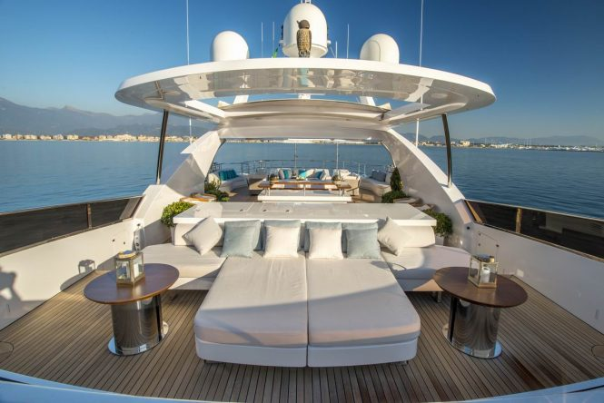 Lovely sundeck for sunbathing and relaxation